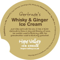 Whisky and Ginger Ice Cream